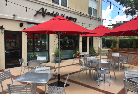 Outdoor Dining at Aladdin's Eatery