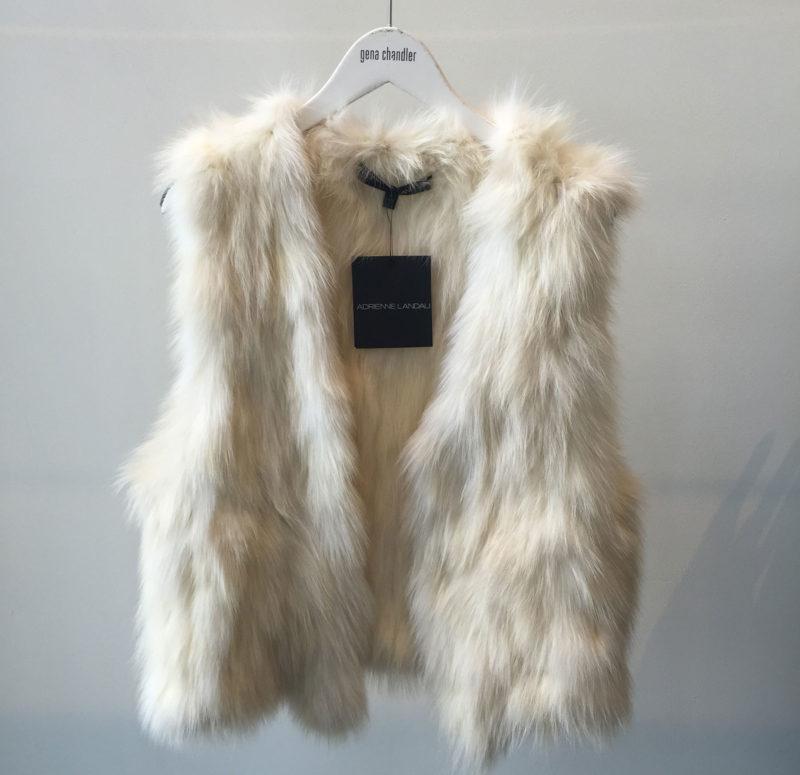 Gena Chandler Fur Vest
