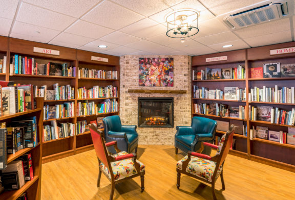 Inside Quail Ridge Books