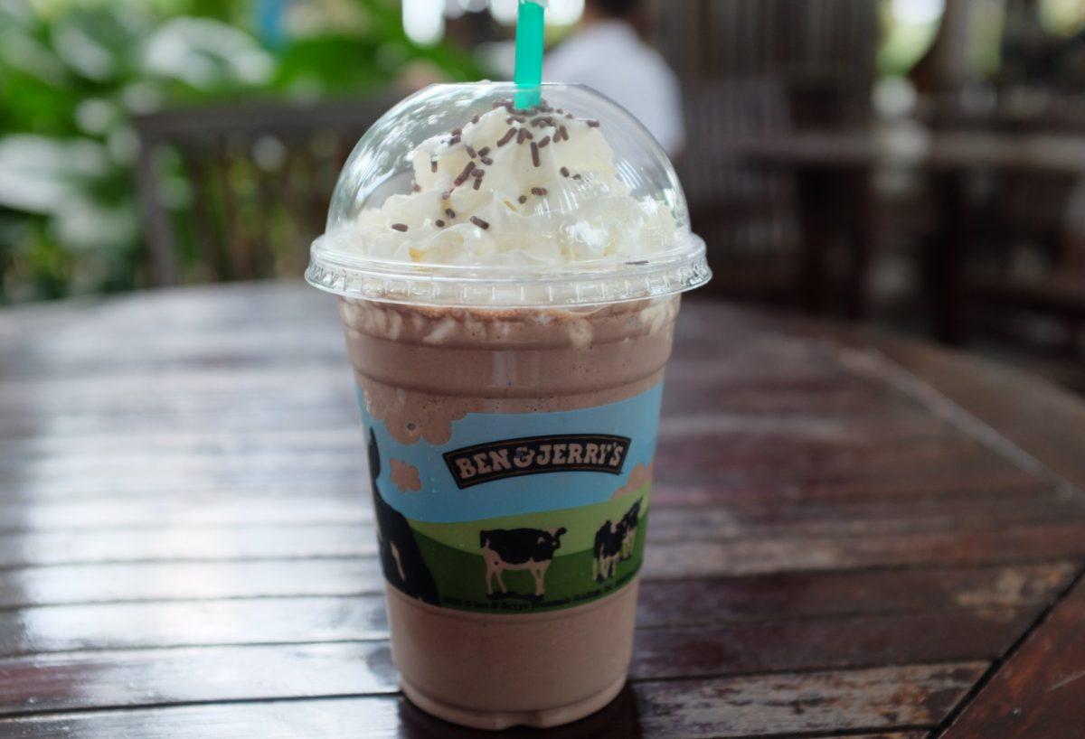 Ben & Jerry's milkshake