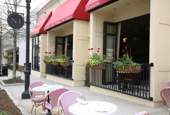 Outdoor Dining at Coquette