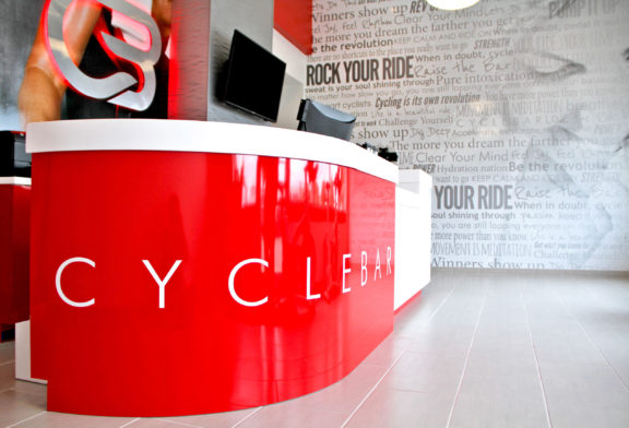 Cyclebar desk