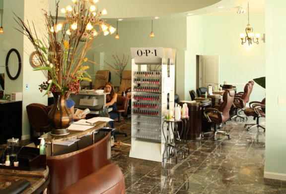 Inside Midtown Nail Spa