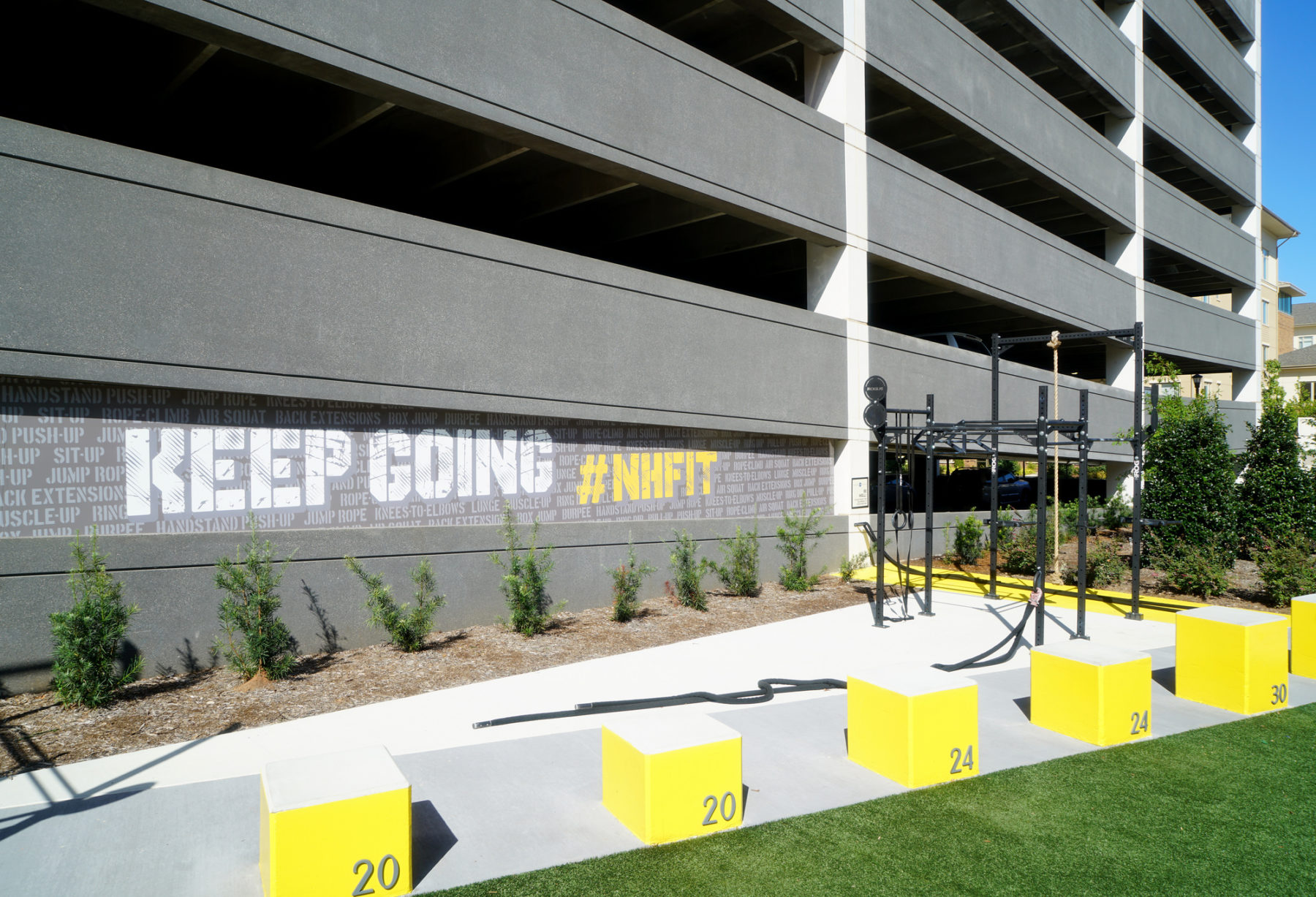 Crossfit Station at Midtown Plaza