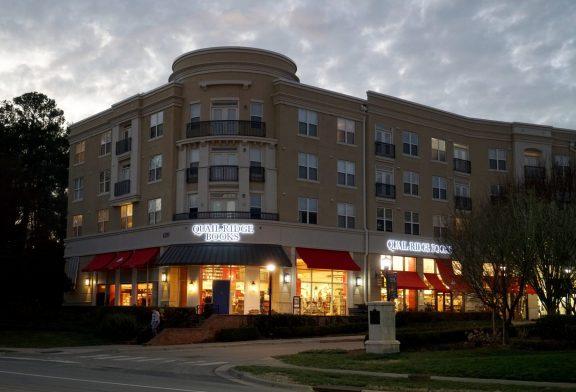 Quail Ridge Books storefront at North Hills