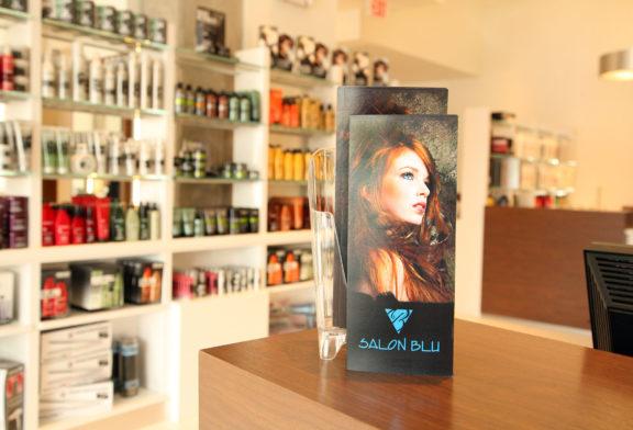 Inside Salon Blu