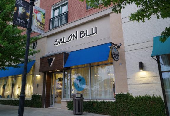 Salon Blu Storefront