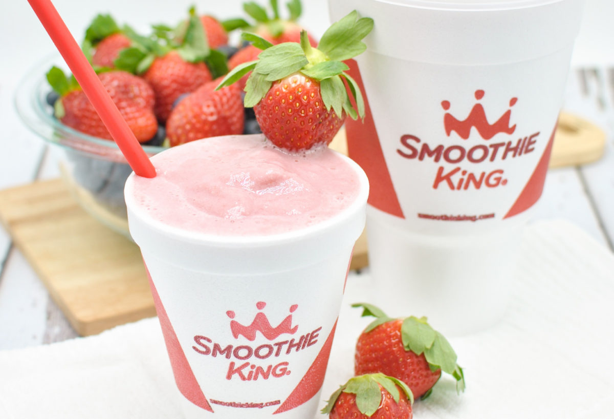 Smoothies from Smoothie King